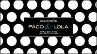Paco & Lola Albarino 2018
