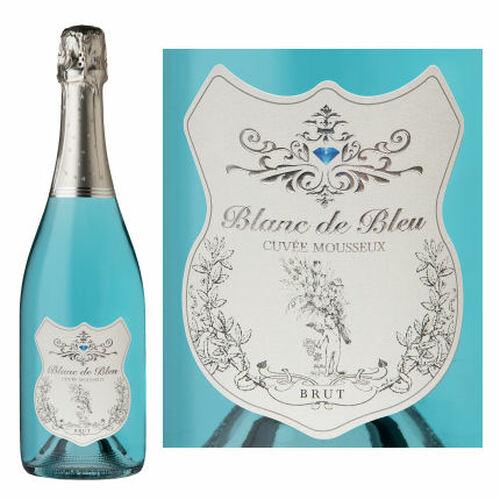 Blanc de Bleu Cuvee Mousseux Sparkling NV 750ml