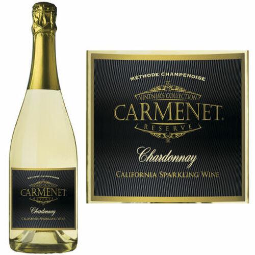 Carmenet California Sparkling Chardonnay NV Rated 93 GOLD MEDAL