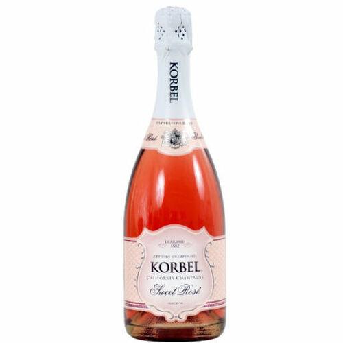 Korbel California Sweet Rose NV
