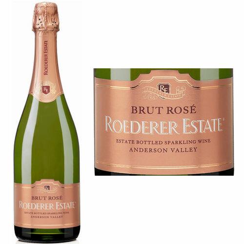 Roederer Estate Anderson Valley Brut Rose NV Rated 92WE EDITORS CHOICE