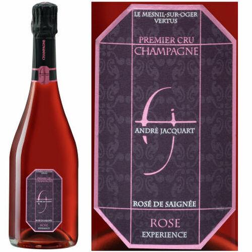 Andre Jacquart 1er Cru Rose de Saignee Experience Champagne NV