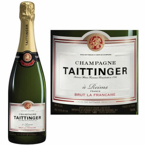 Champagne Taittinger La Francais Brut Rated 92WE