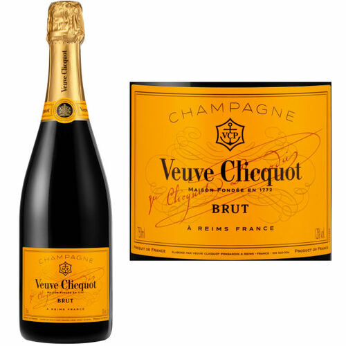Veuve Clicquot Yellow Label Brut NV Rated 92WS