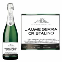 Jaume Serra Cristalino Brut Cava NV Spain Rated 88WE BEST BUY