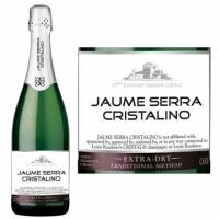 Jaume Serra Cristalino Extra Dry Cava NV (Spain) Rated 89W&S