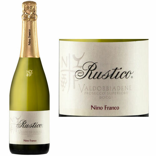 Nino Franco Rustico Prosecco NV Rated 94WE EDITORS CHOICE #1 ENTHUSIAST 100 2019