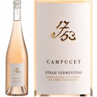 Campuget 1753 Costieres de Nimes Syrah Vermentino Rose 2019 Rated 91VM