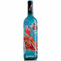 La Catrina Day of the Dead The Wedding Singer California Sangria NV