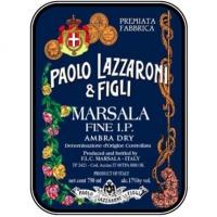 Paolo Lazzaroni & Figli Dry Marsala DOC (Italy)