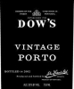 Dow's Vintage Port 2000 Rated 95WE