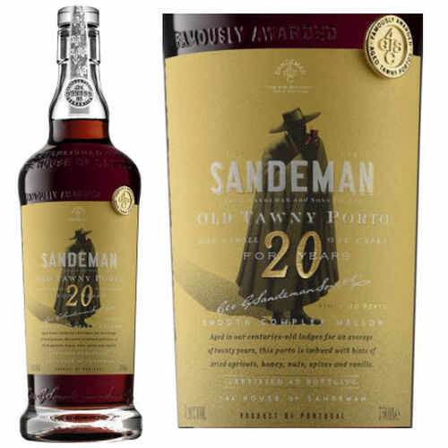 Sandeman 20 Year Old Tawny Port Rated 95WE