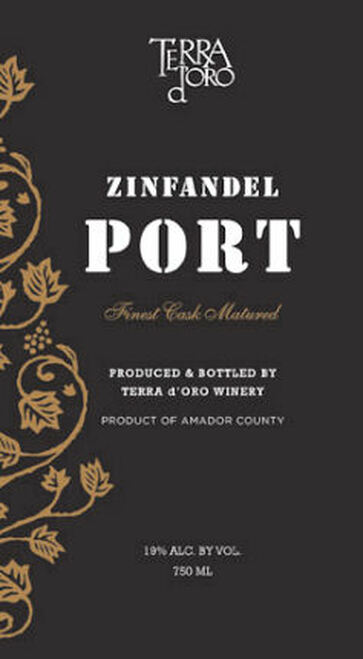 Terra d'Oro Zinfandel Port NV (California)