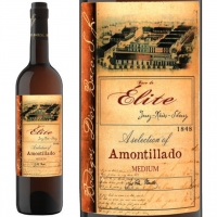 Dios Baco Elite Amontillado Medium Sherry Jerez 750ml Rated 91WE