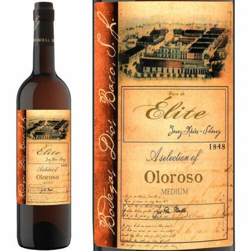Dios Baco Elite Oloroso Medium Sherry Jerez 750ml Rated 92WE