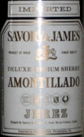 Savory & James Amontillado Medium Sherry