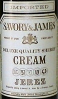 Savory & James Jerez Cream Sherry