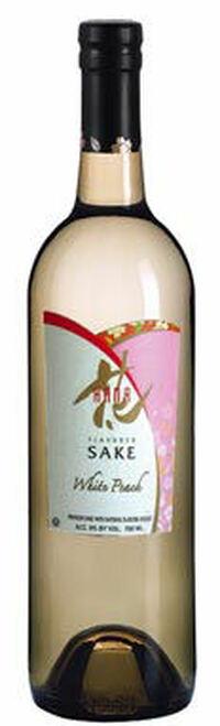 Hana White Peach Flavored Sake (Kosher)