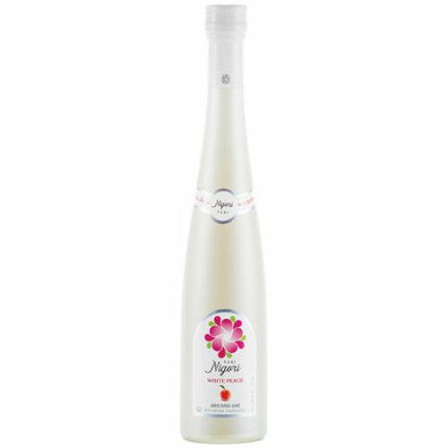 Yuki Nigori White Peach Flavored Sake 375ml