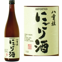 Yaegaki Unfiltered Nigori Samurai Sake 720ML