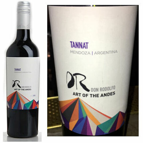 Don Rodolfo Art of the Andes Mendoza Tannat 2018 (Argentina)