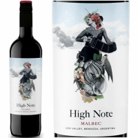 High Note Mendoza Malbec 2018 (Argentina) Rated 90JS