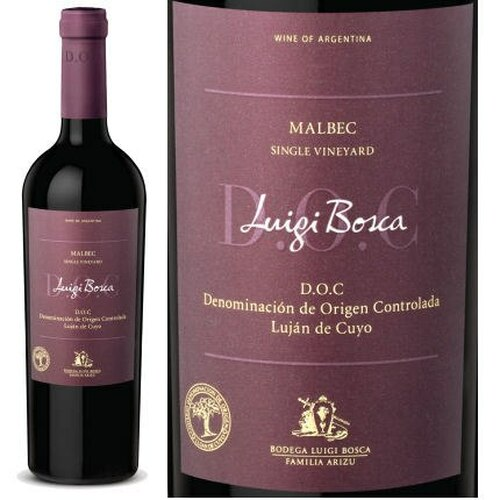 Luigi Bosca Malbec Single Vineyard DOC 2018 (Argentina)