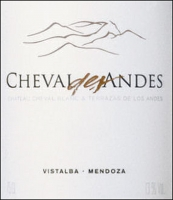 Terrazas Cheval des Andes 2011 Rated 96JS