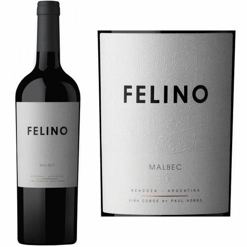 Vina Cobos Felino Malbec by Paul Hobbs 2018 (Argentina) Rated 92JS