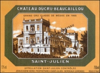 Chateau Ducru Beaucaillou St. Julien 2000 Rated 95WA