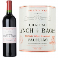 Chateau Lynch Bages Pauillac 1990 Rated 99WA