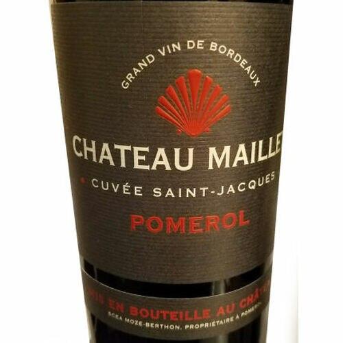 Chateau Maillet Cuvee Saint-Jacques Pomerol 2012