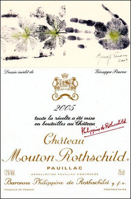 Chateau Mouton Rothschild Pauillac 2005 Rated 96WA