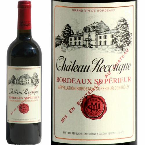 Chateau Recougne Bordeaux Superieur Rouge 2018