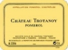 Chateau Trotanoy Pomerol 1961 Rated 98WA