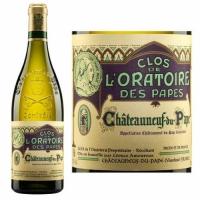 Clos de l'Oratoire des Papes Chateauneuf du Pape Blanc 2014 Rated 90WS