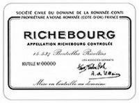 DRC Domaine de la Romanee-Conti Richebourg 2013 Rated 94-96WA