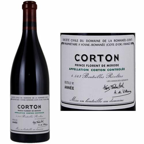 DRC Domaine de la Romanee-Conti Corton 2016 Rated 94WA