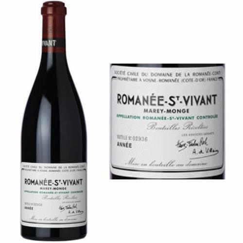 DRC Domaine de la Romanee-Conti St. Vivant 2016 Rated 96VM
