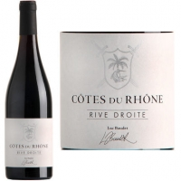 Luc Baudet Rive Droite Cotes du Rhone Rouge 2015