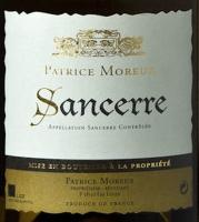 Patrice Moreux Sancerre 2015 (France)