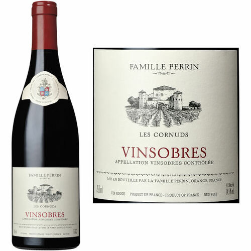 Famille Perrin Vinsobres Les Cornuds Rouge 2017 (France) Rated 92WS