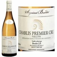 Seguinot-Bordet Chablis Vaillons Premier Cru 2014 (France) Rated 90VM