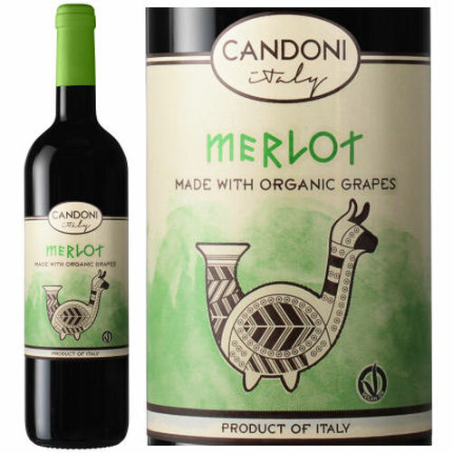 Candoni Organic Merlot Veneto IGT 2018 (Italy)