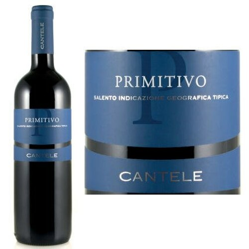 Cantele Primitivo Salento IGT 2016 (Italy)
