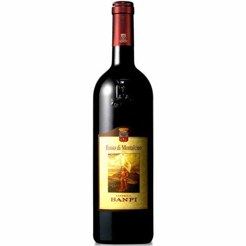 Castello Banfi Rosso di Montalcino DOC 2018 (Italy) Rated 91JS