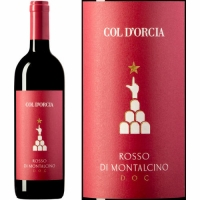 12 Bottle Case Col d'Orcia Rosso di Montalcino DOC 2016 Rated 92JS