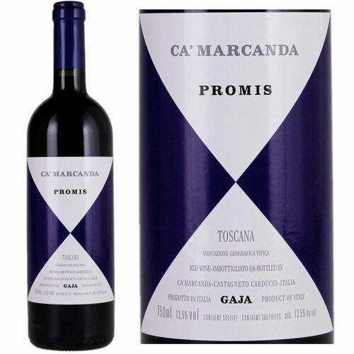 Gaja Ca Marcanda Promis 2018 (Italy) Rated 92DM