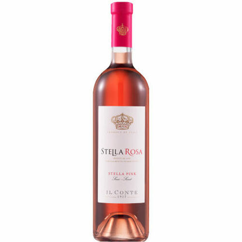 Il Conte d'Alba Stella Rosa Pink NV (Italy)