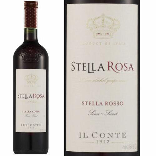 Il Conte d'Alba Stella Rosa Rosso NV (Italy)